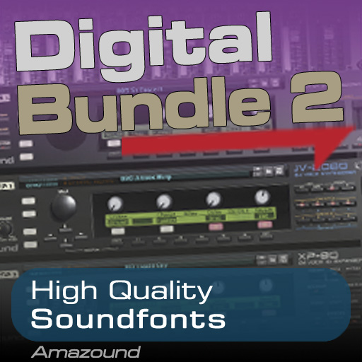 D-Synths Vol 2 + JV-XP Vol 1 + JV-XP Vol 2 - Soundfonts Bundle